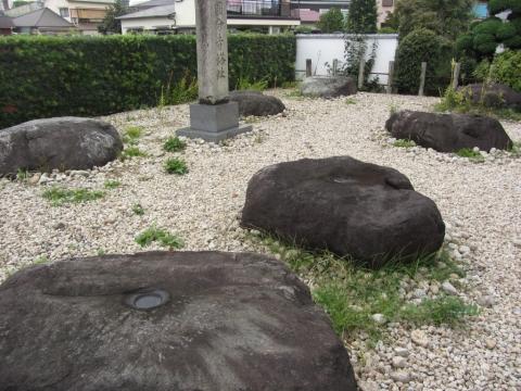 七重の塔礎石