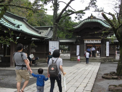 三嶋大社神門