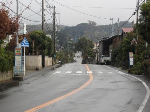 塚原バス停