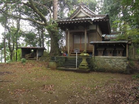 市の山新田の山神社