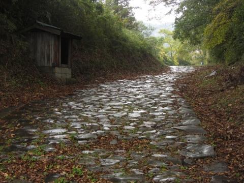 笹原地区の石畳
