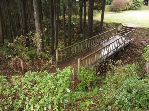 本丸・北ノ丸を繋ぐ架橋