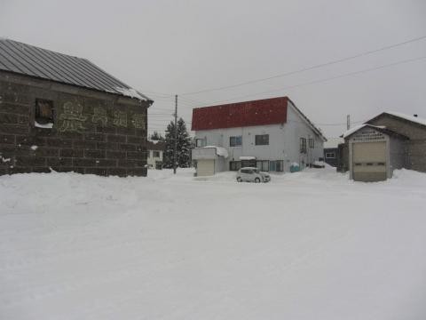 旧政和駅前