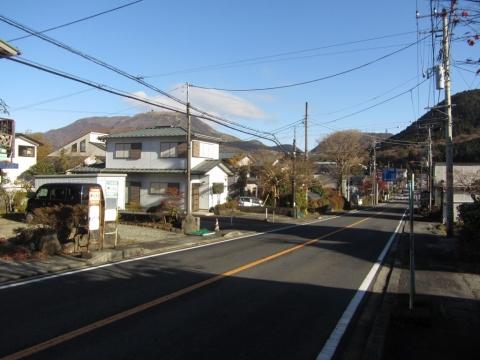 芦川入口バス停
