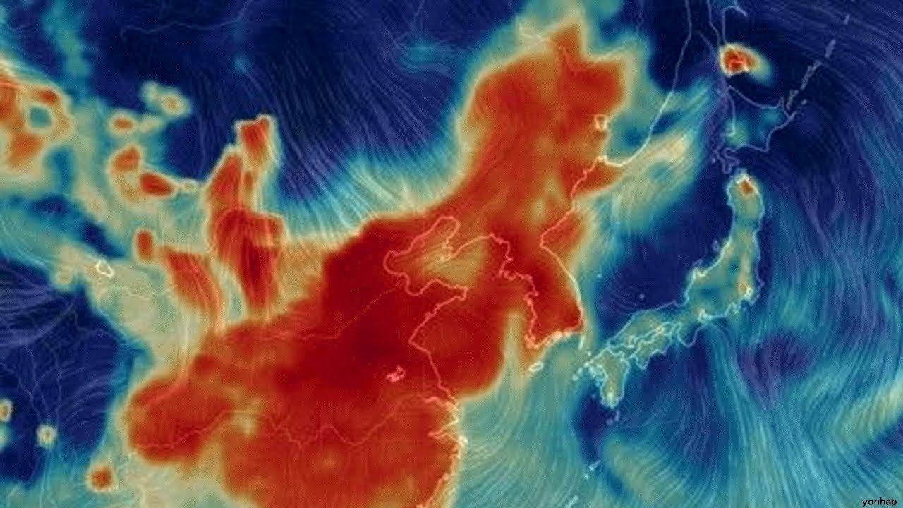 中国韓国で過去最大の大気汚染