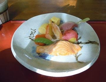 瀬戸の絵皿お食事会