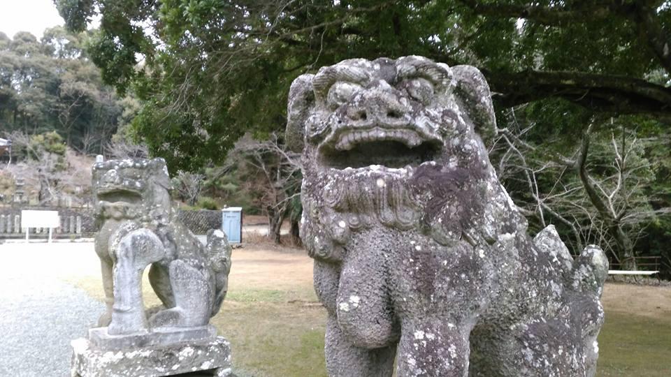 吉常八幡宮狛犬
