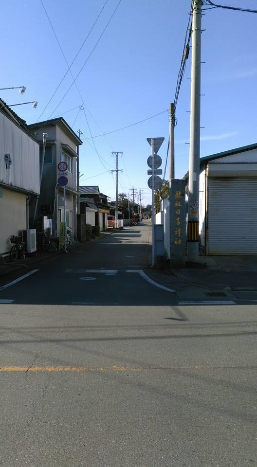 日吉神社参道2
