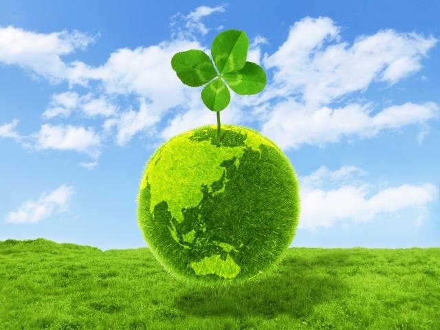地球 グリーン 緑
