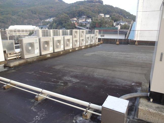 某庁舎屋根防水補修