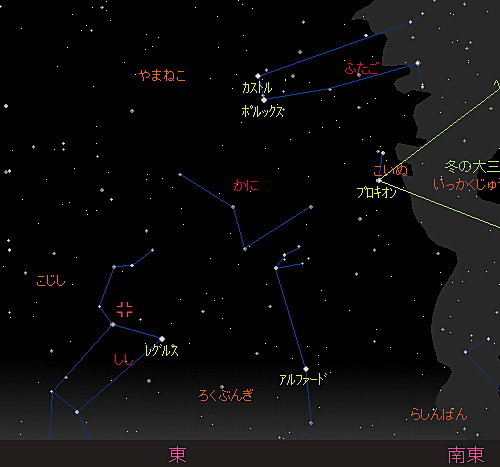 20181118 しし座流星群星図