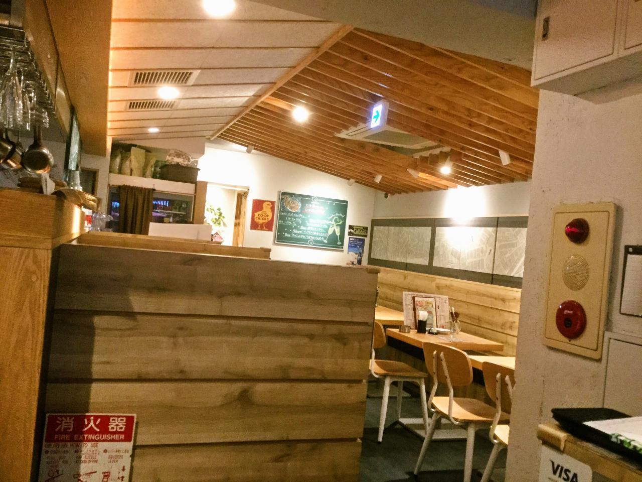 鶏バルHINAMARU(店内)