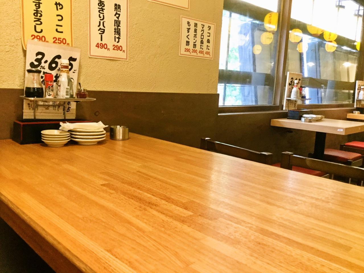 3・6・5酒場 渋谷本店(店内)