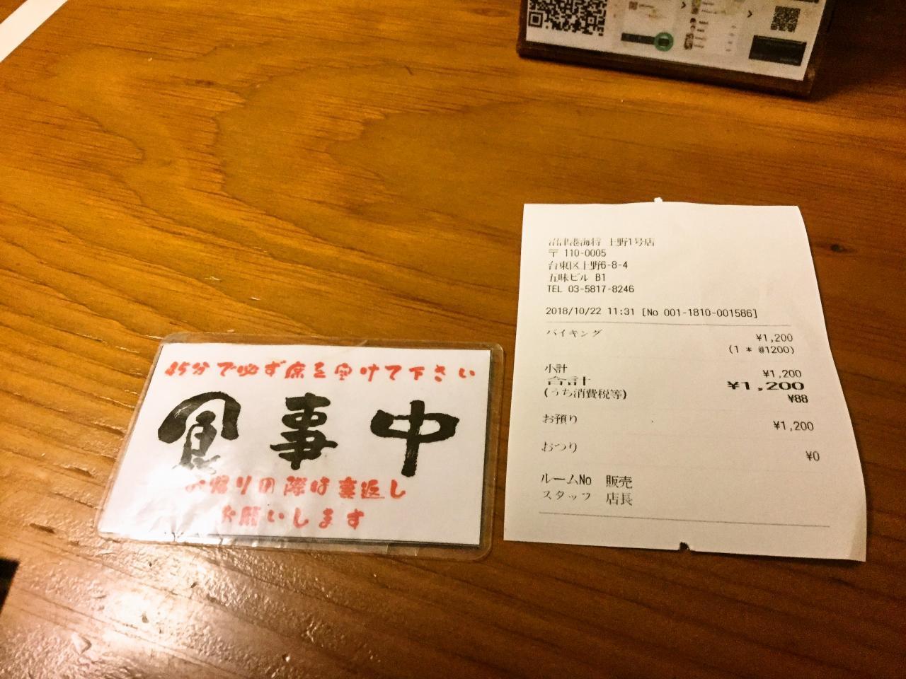 沼津港 海将 上野1号店(店舗)