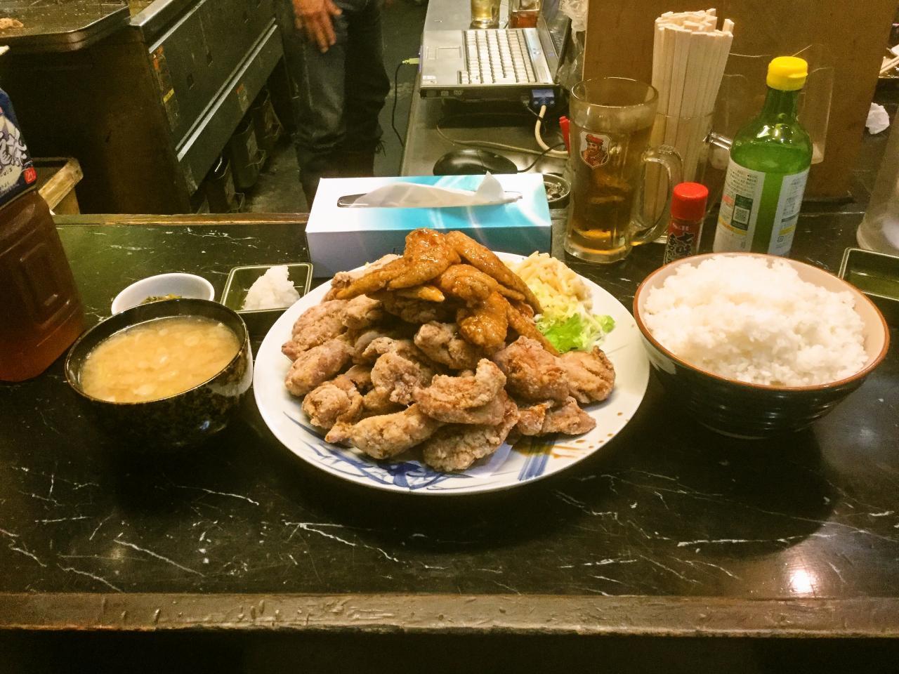 あげ市 鶴見店(腹減った定食)
