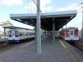 Imari Station of Matsuura Railway