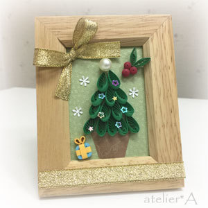 181019 クイリングクリスマスツリー