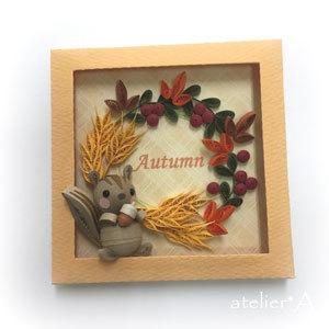 181012 麦穂の秋リース