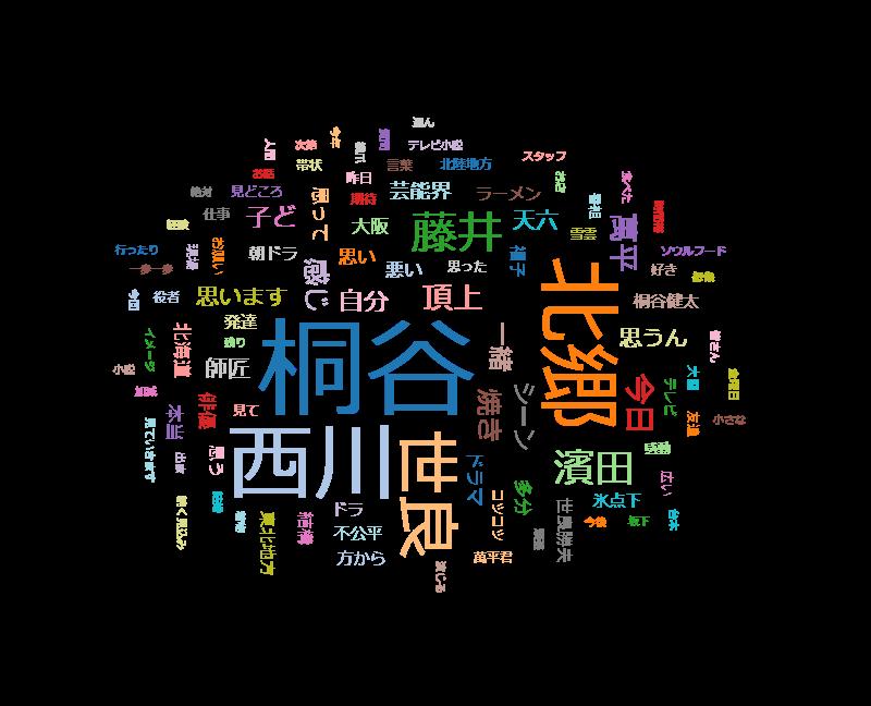 """ごごナマ おいしい金曜日「朝ドラ""""まんぷく""""SP~桐谷健太~」"""