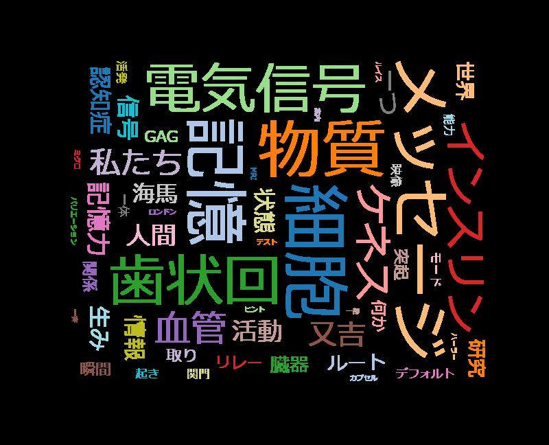 """シリーズ 人体・特別版 神秘の巨大ネットワーク 五集""""脳""""ひらめきと記憶"""