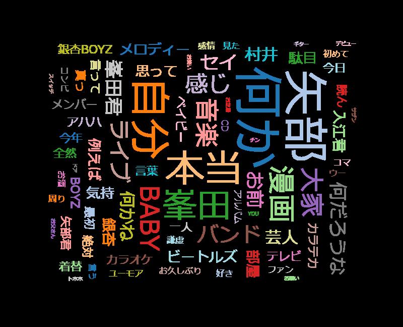 SWITCHインタビュー 達人達(たち)「矢部太郎×峯田和伸」