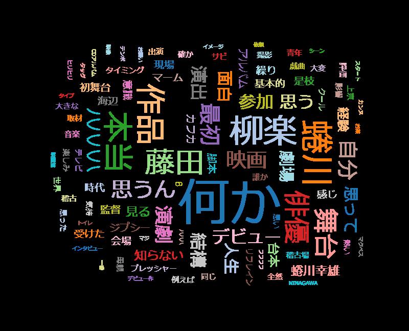 SWITCHインタビュー 達人達(たち)「柳楽優弥×藤田貴大」