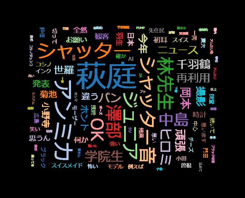 初耳学【林が選ぶ2018年ニュース パリコレ学】