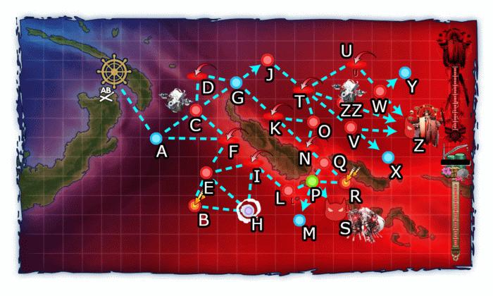 艦これ,冬イベント2019,map,E3