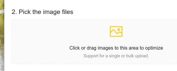 E-Mage Ubuntu 画像圧縮 画像ファイルの選択
