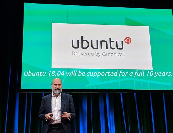 Ubuntu 18.04 サポート期間 10年に延長