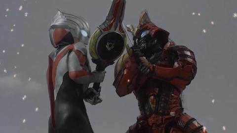 ウルトラマンオーブ vs 戀鬼(紅蓮騎)