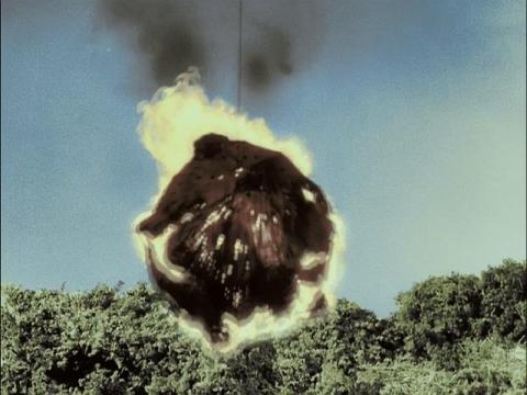 ガラモンの巨大隕石