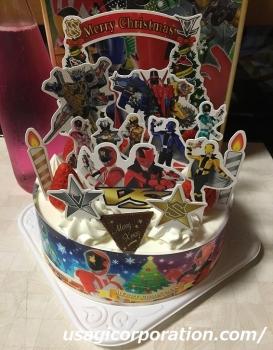 2018 1225 クリスマスケーキ