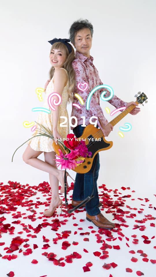 2019新年あいさつ画像