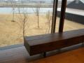 古木のベンチ