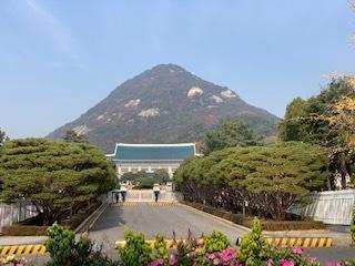 韓国 青瓦台