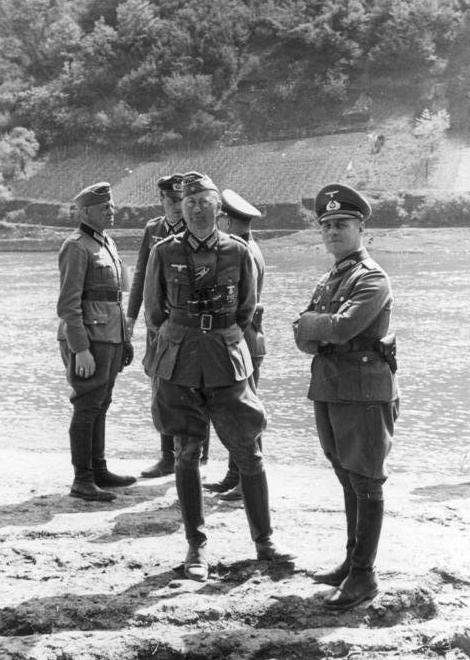 Julius von Bernuth_Erwin Rommel