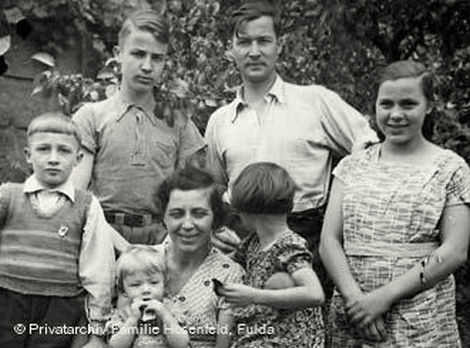 Wilm Hosenfeld with his family in 1938