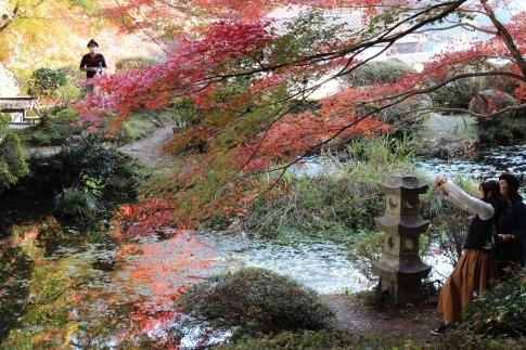 安芸太田町加計・吉水園の紅葉 013-001