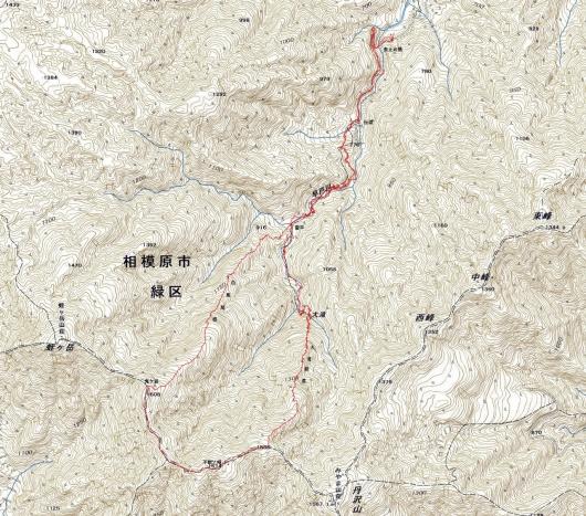 190105 早戸川大滝