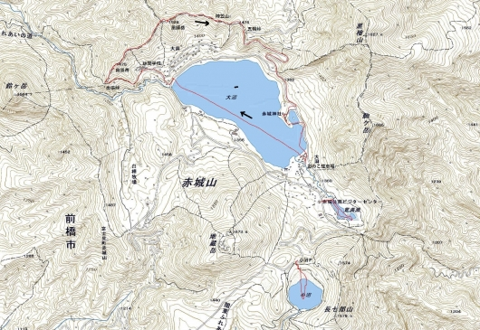 190122 赤城3湖&薬師岳