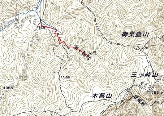 190201 三つ峠軌跡