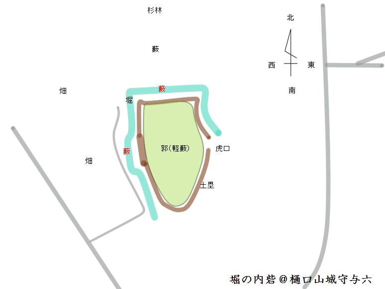 完成 堀の内砦@ヤマシロ