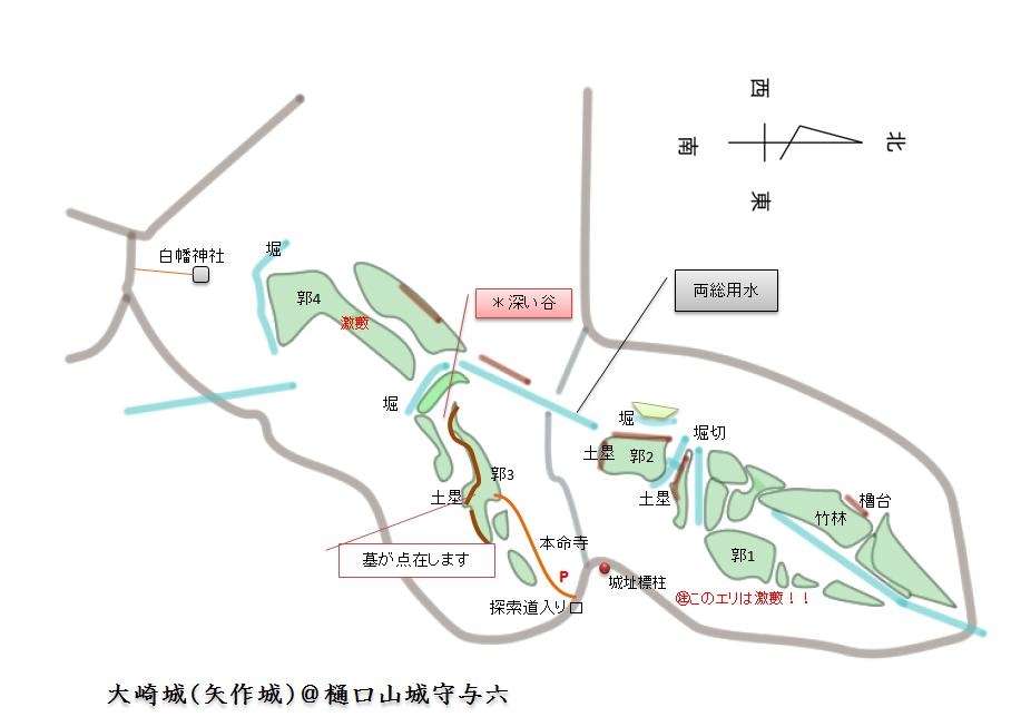 完成 大崎城(矢作城) 千葉県香取市
