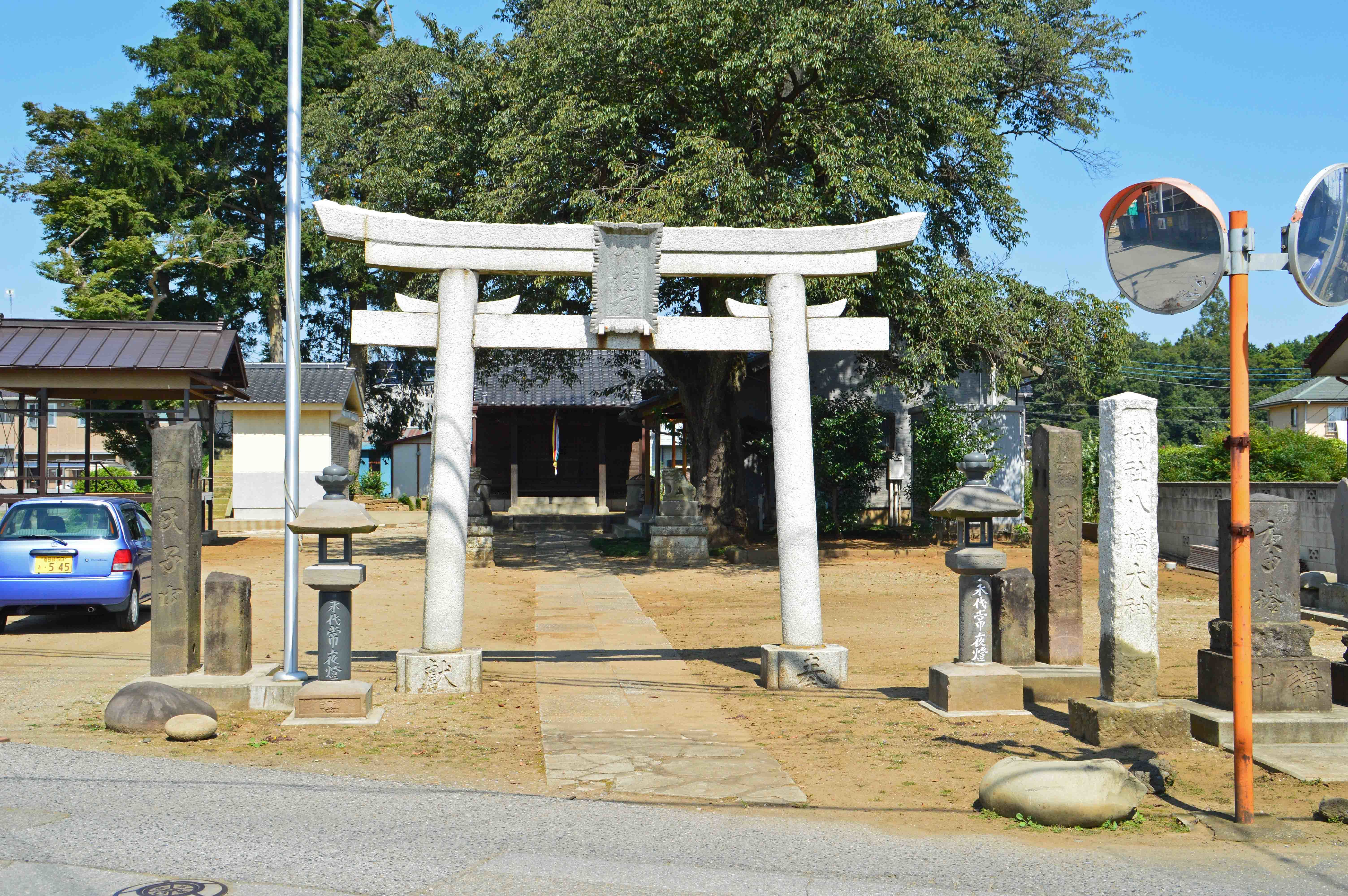 八幡神社 堤台