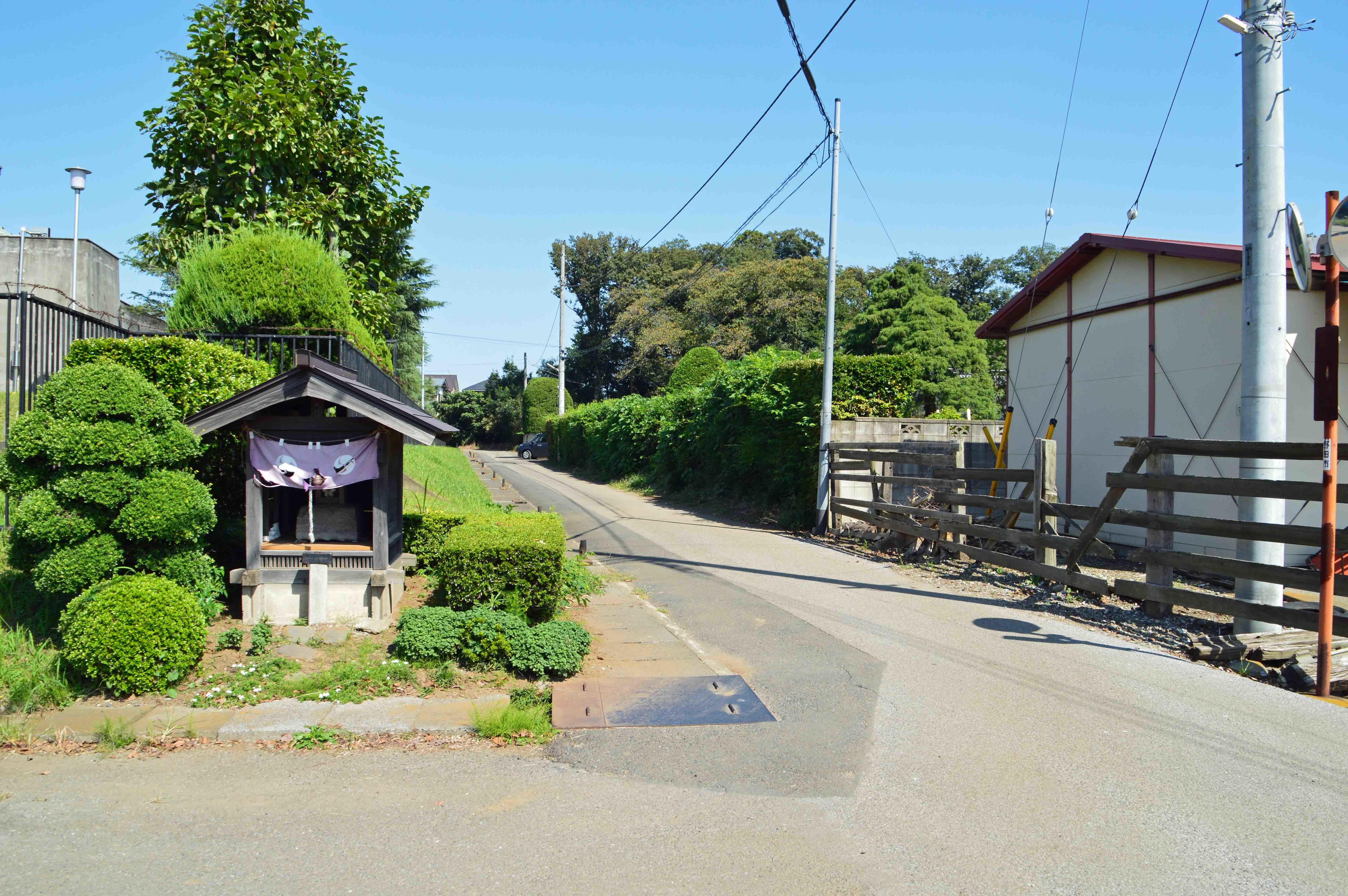金野井城 堀跡