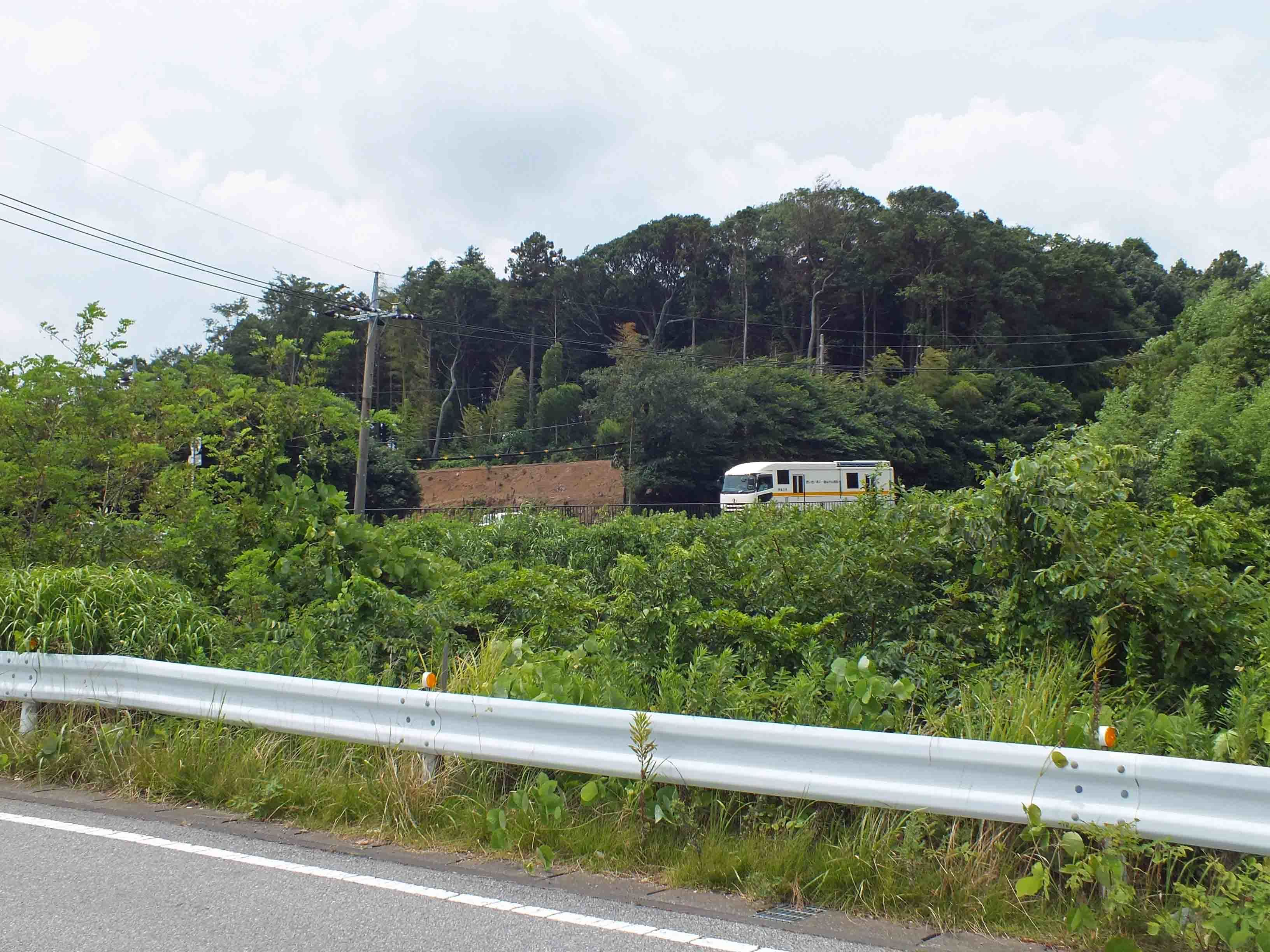藤ヶ谷城 遠景