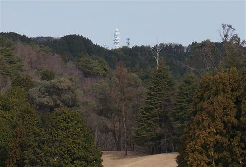 7高鈴山が見える