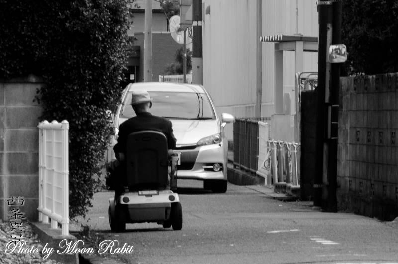 電動車椅子 愛媛県西条市神拝