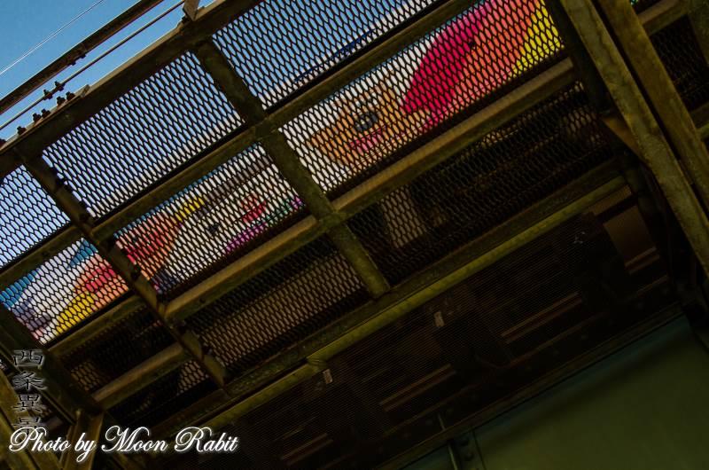 アンパンマン列車と加茂町高架鉄道